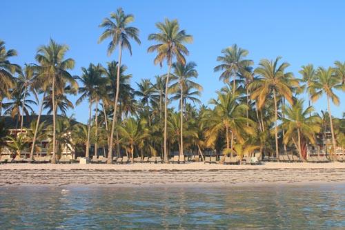 Утро на пляже в Доминикане
