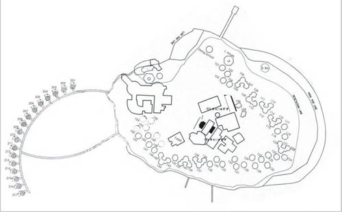 План острова Тулагири