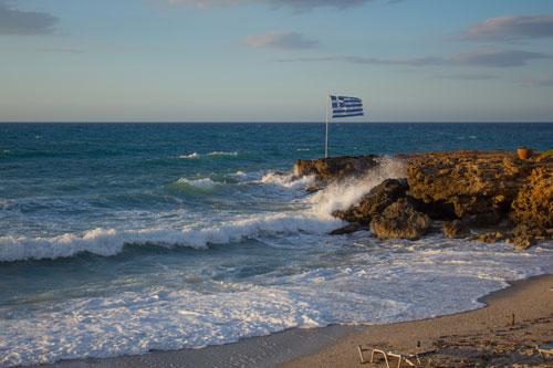 Берег острова Крит