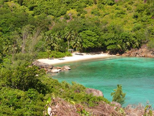 Пляж Анс Мажор на Сейшельских островах