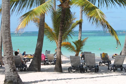 Пляж отеля Barcelo Bavaro Beach