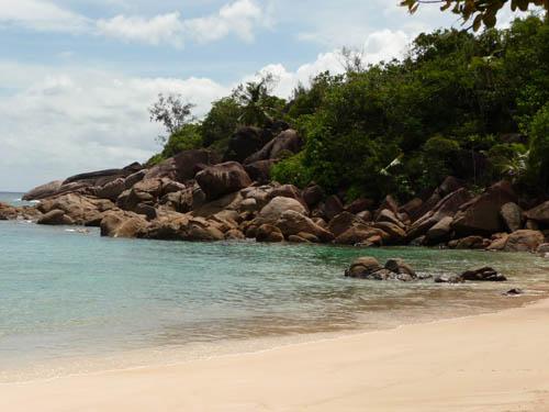 Пляж Анс Мажор на Сейшелах