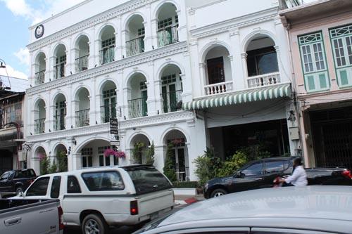 Историческое здание в Таиланде