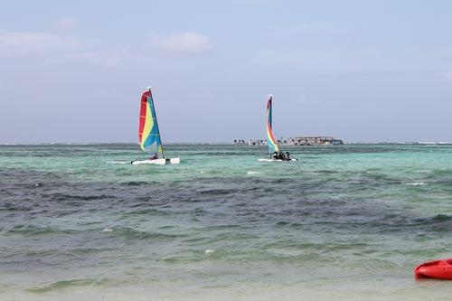 Ветер на пляже в Доминикане