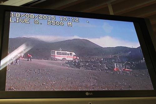Видеотрансляция с верхней станции фуникулера