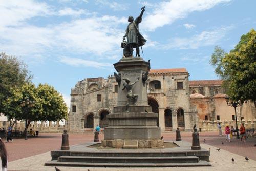 Памятник Колумбу в Санта Доминго