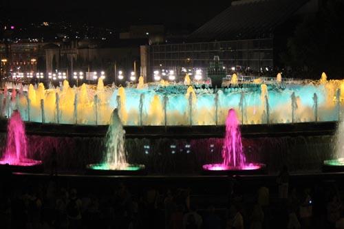 Волшебные фонтаны в Барселоне
