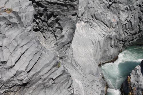 Древние потоки лавы