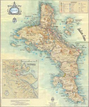 Карта Маэ