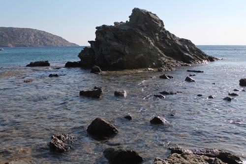 Море и скалы Греции