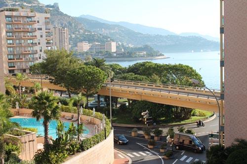 Утро в Монако