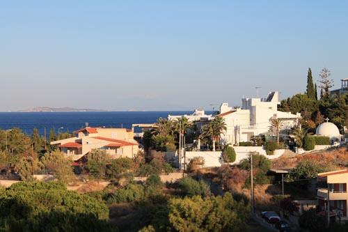 Вид из окна отеля Eden Beach Resort
