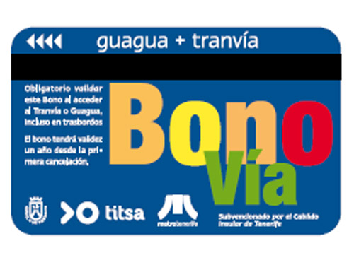 Карта Bono Bus на Тенерифе