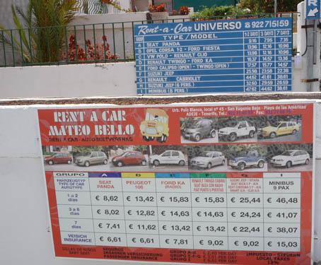 Прокат автомобилей