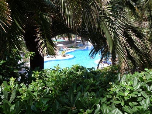 Территория отеля Sol Antillas Barbados