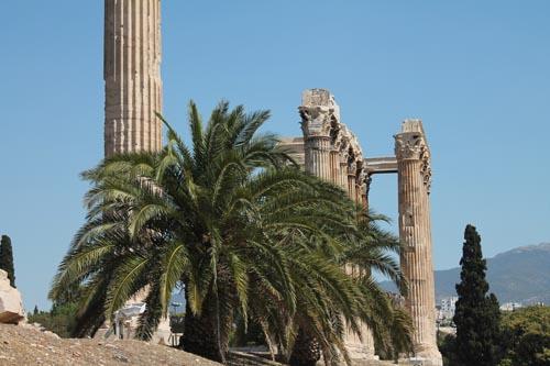 Вид древней Греции