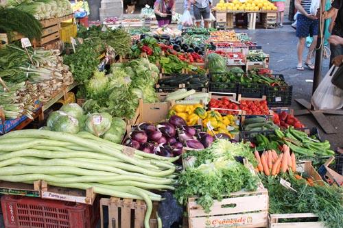 Рынок в Катании