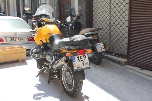 Самый крутой мотоцикл Греции