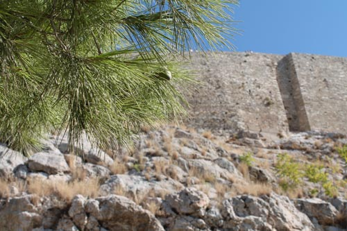 На подходе к греческому Акрополю