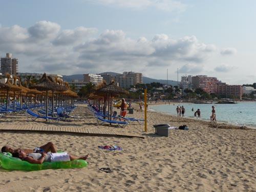 Пляж на Мальорке