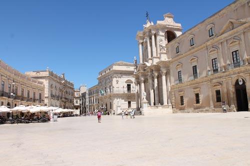 Главная площадь Сиракуз