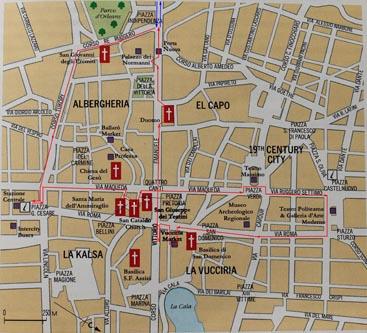 План экскурсий по Палермо