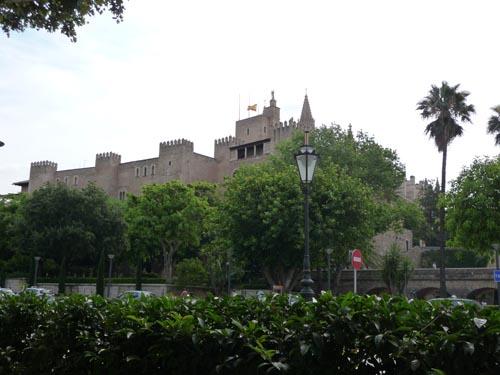 Резиденция короля Испании на Майорке
