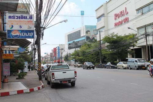 Улица Пхукет Тауна