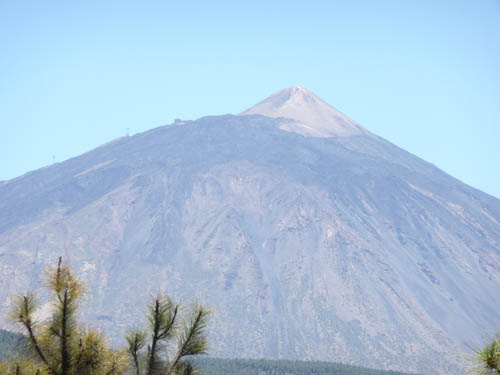 Второй и третий конуса вулкана