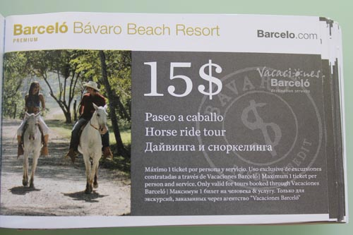 Забавный купон в Barcelo Bavaro Beach