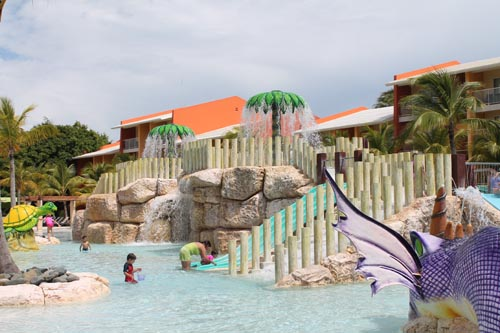 Детский аквапарк в Barcelo Bavaro Beach