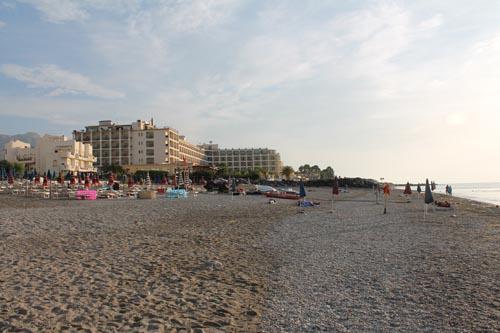 Пляж в Реканати