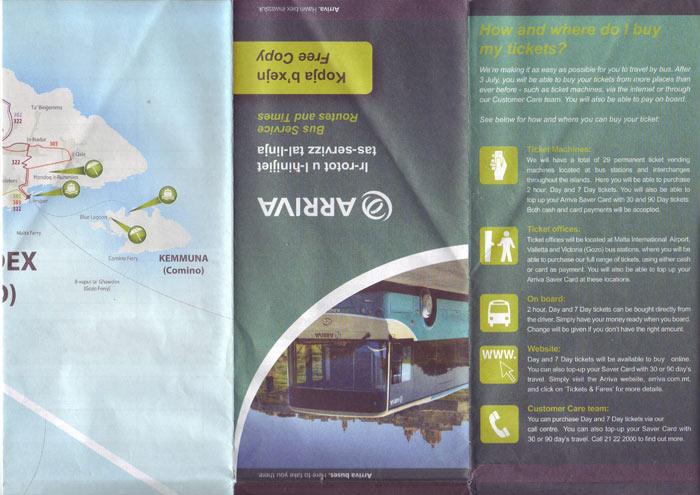 Карта Мальты 4