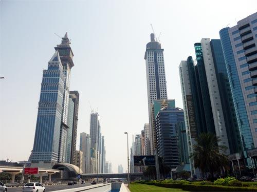 Небоскребы Дубая