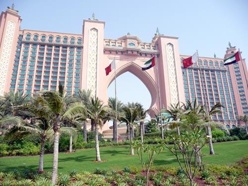 Отель Атлантис в ОАЭ