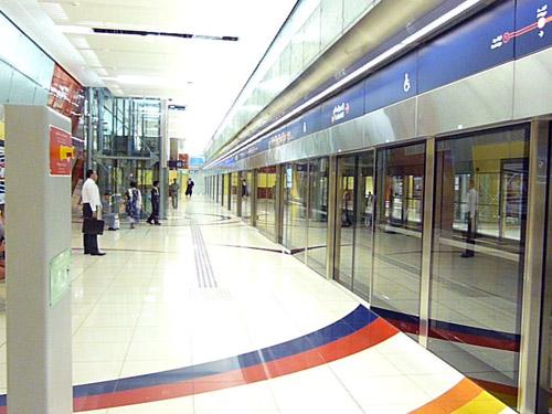 Станция метро в ОАЭ