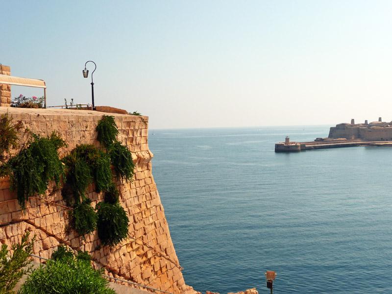 Вход в Большую гавань Валетты